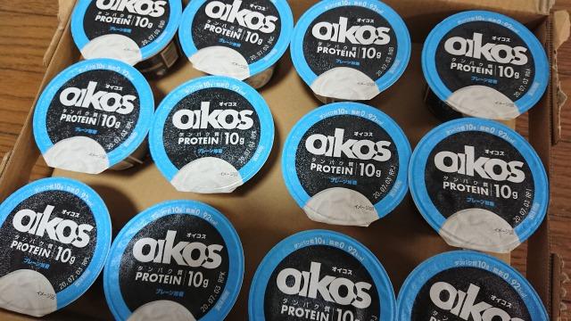 コストコ oikos プレーン加糖 1箱12個入り