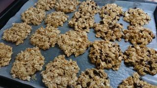 オートミール クッキー ココナッツ チョコチップ ドライフルーツナッツ レシピ