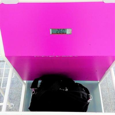 LCC 格安航空会社ピーチ 機内持ち込み手荷物 重量サイズ測定
